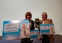 Op de foto: Erna Schell, afdelingshoofd cardiologie en Marga Boomgaard, kwaliteitsfunctionaris hartrevalidatie