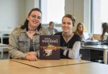 Nieuwe opleiding Vakexpert Voeding & Kwaliteit bij ROC Midden Nederland, Studenten Suzanne van Drunen (links op foto) en Sterre Smit