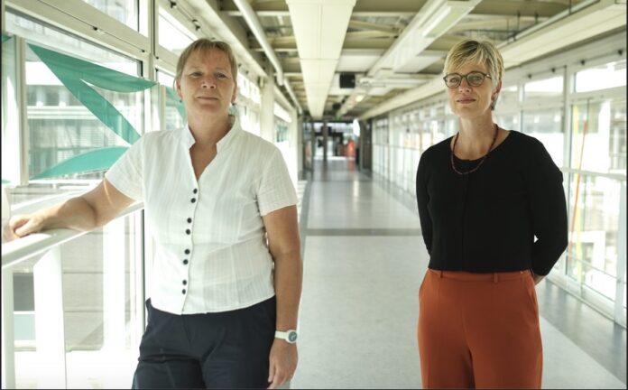 Onderzoekers die het onderzoek willen uitvoeren: Links is Caroline van Heugten en rechts is Janneke Horn